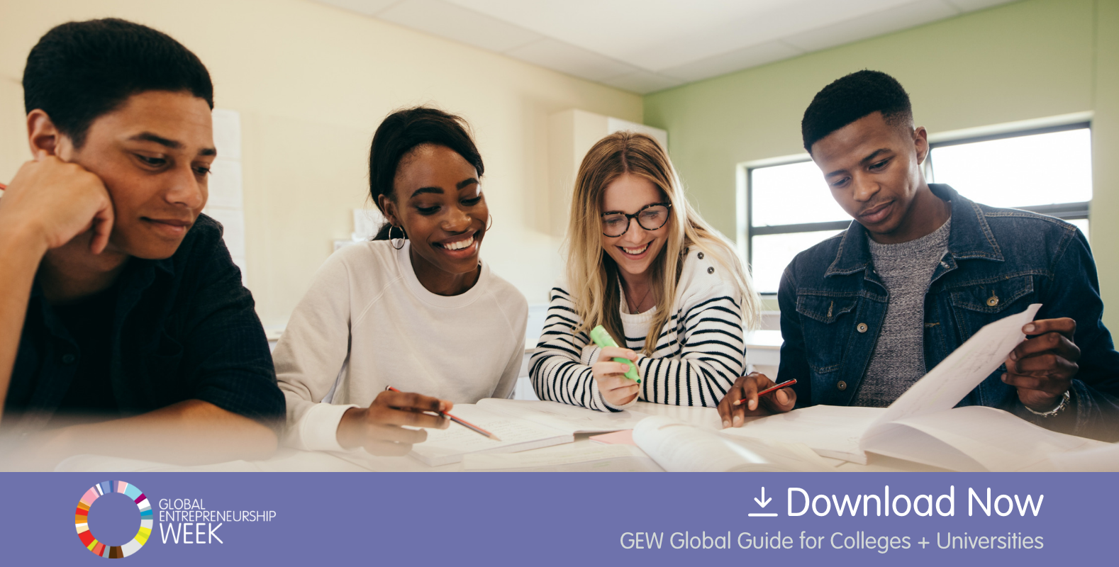 GEW Global Guide for Colleges + Universities