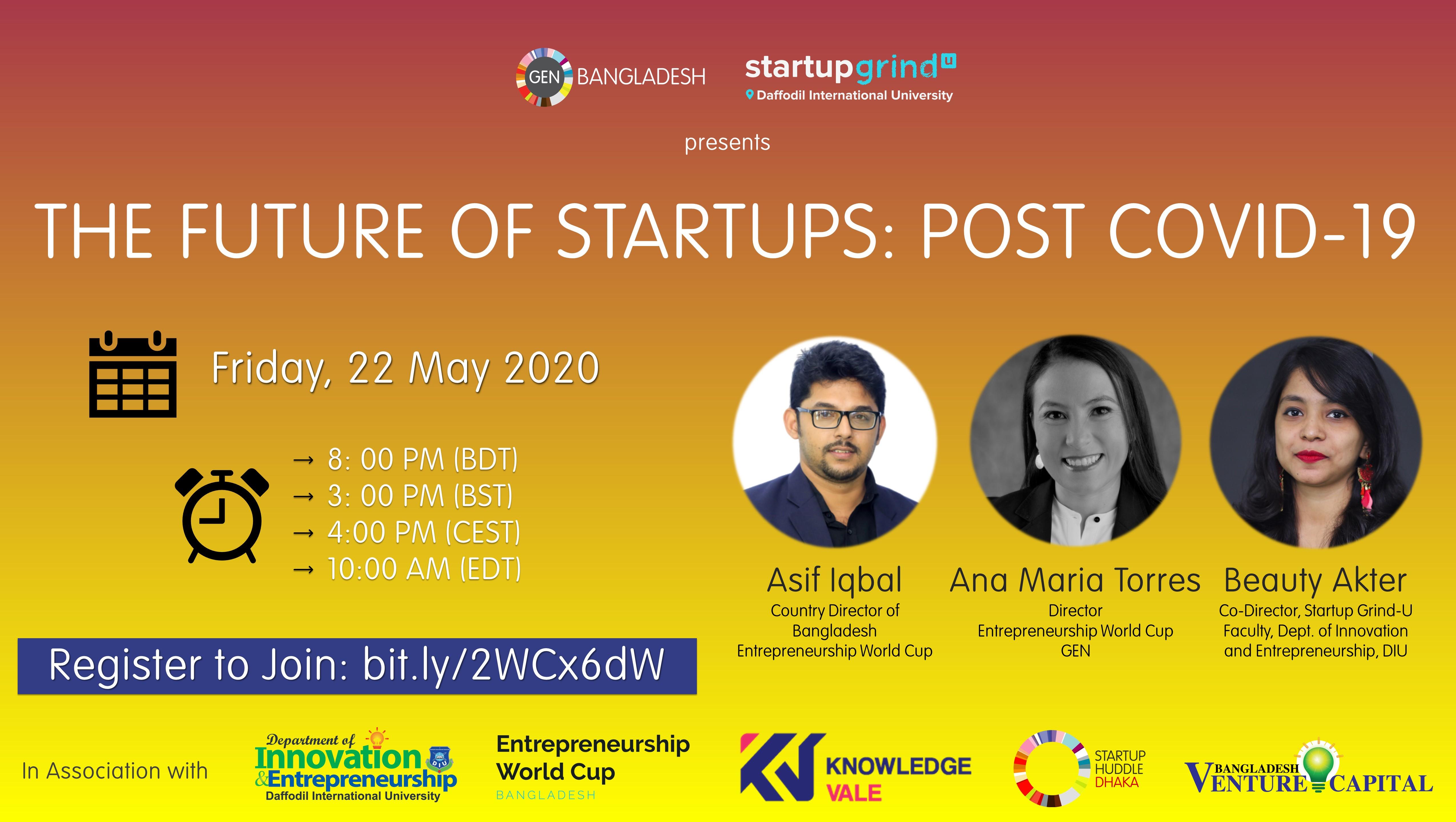 The Future of Startups Post COVID-19
