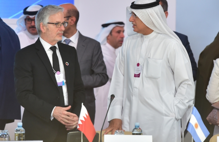 Bahrain's Minister offers international Policy Dialogue