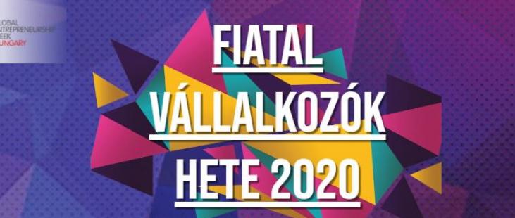 Global Entrepreneurship Week 2020 - Banner in Hungary