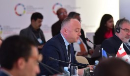 Deputy MinisterLasha Mikava at the Startup Nations Ministerial in Bahrain