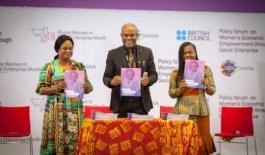 British Council launches Report on Women's Economic Empowerment