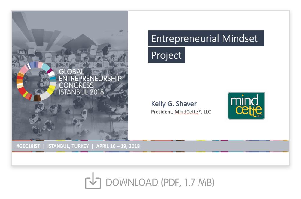 Entrepreneurial Mindset Project